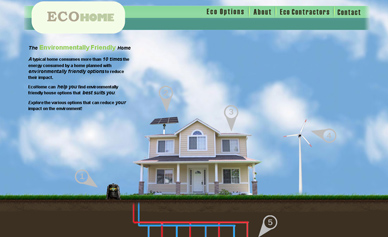 EcoHome, a house you can learn from to be eco friendly.